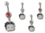 Betty Boop Belly Navel Dangle Face - As low as 1.75