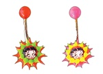 Betty Boop Navel Ring Glow in the Dark As low as 0.77