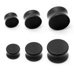 Black Colored Silicone Plugs