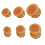Skin Colored Silicone Plugs